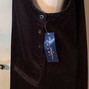 Kim Rogers Dresses - Kim Rogers Sports Wide Wale Corduroy Jumper Size L